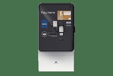 Automat pentru plata taxei de parcare