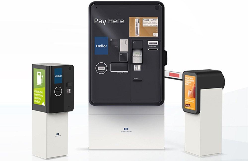 Sistem automat de parcare cu plata Designa Abacus Connect