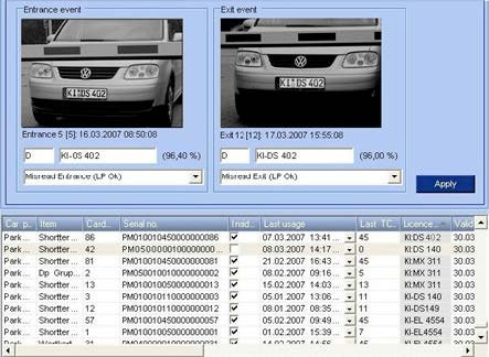 Sistem de recunoastere a numerelor de inmatriculare complet integrat
