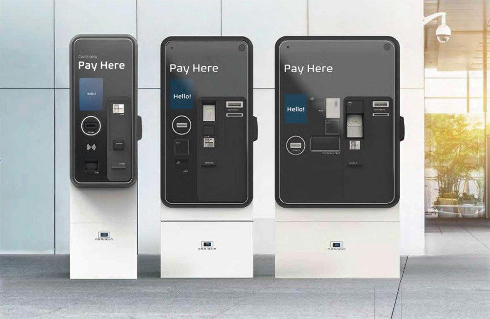 Statie automata pentru plata taxei de parcare